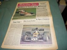 MOTORING NEWS 1974 Jan 3 World Rally Review,Kieth Duckworth, Croft Rallycross,